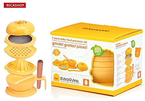 PiyoPiyo 7 piece baby food processor - 1