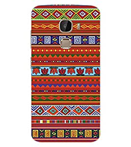 ColourCraft Tribal Pattern Design Back Case Cover for LeEco Le 2 Pro