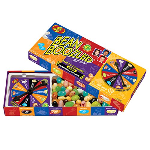 Jelly Belly Bean Boozled with Spinner Wheel Game 4th Edition, 3.5 Ounce (Different Flavored Jelly Beans compare prices)