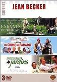 echange, troc Coffret Jean Becker 3 DVD : Un crime au Paradis / Effroyables jardins / Les Enfants du marais