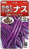 サカタのタネ 実咲野菜0204 炒めてバッチリナス マー坊 00920204