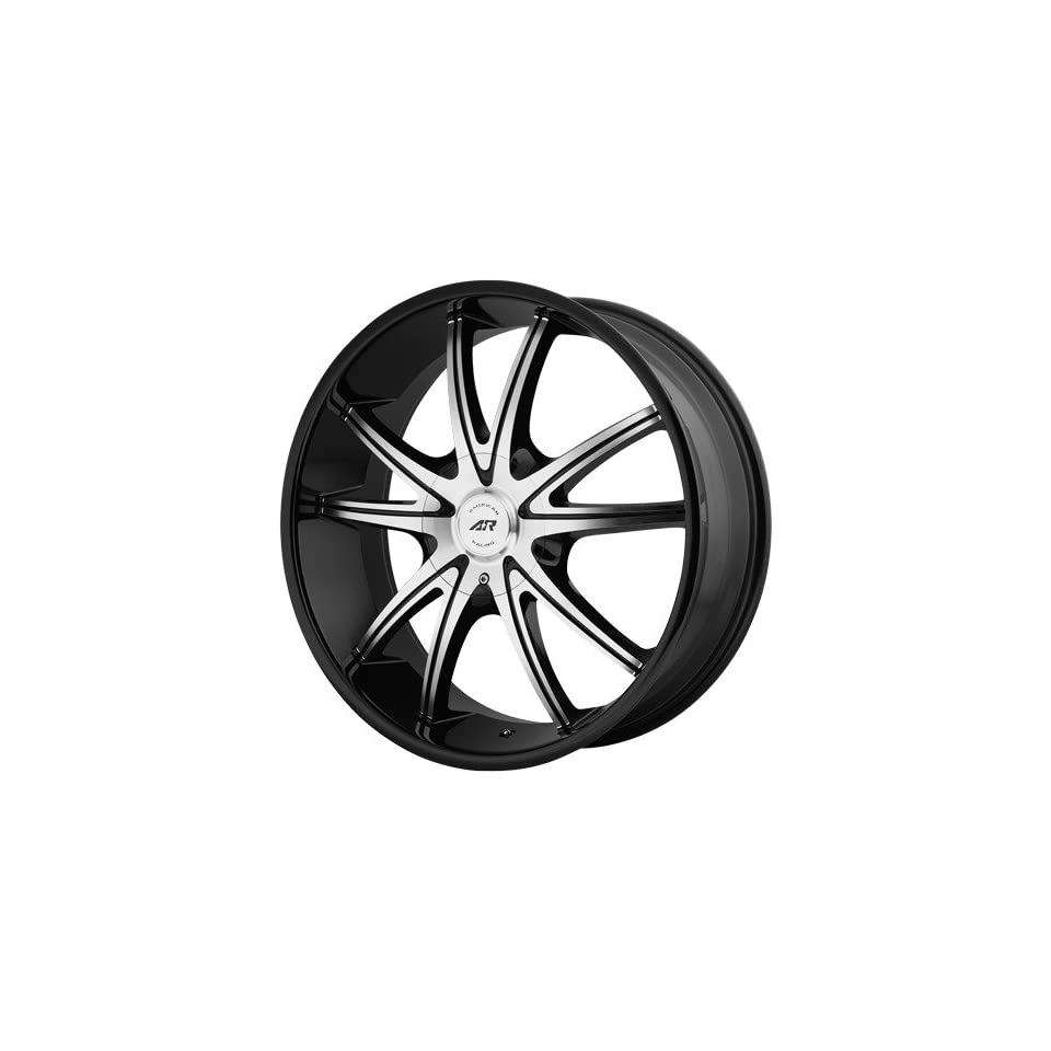 American Racing AR897 18x8 Black Wheel / Rim 6x135 & 6x5.5 with a 38mm Offset and a 100.50 Hub Bore. Partnumber AR89788066338