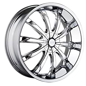 DIP Slack D66 Chrome Wheel (18x7.5