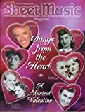 img - for Sheet Music Magazine January/February 2001. Songs From the Heart, a Musical Valentine Issue.....Volume 25 No.1 book / textbook / text book