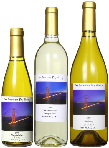 San Francisco Bay Winery Mist Off The Bay White Wines Mixed Pack, 2 X 750 Ml And 1 X 350 Ml