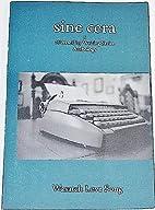 Sine Cera, A DiverseCity Writing Series…