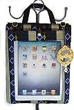 Apple iPad messenger bag/case with black navajo design