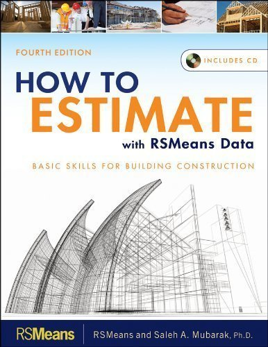 Read How To Estimate With Rsmeans Data 4th Fourth