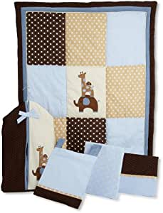 Lambs & Ivy Jake 5 Piece Bedding Set (Discontinued by Manufacturer)