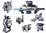 Space Explorer Educational Hybrid Solar & Battery 7 in 1 Model Kit Powerplus Junior