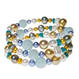 Turquoise Temptation Pearl & Gemstone Bracelet