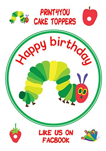 the-hungry-caterpillar-happy-birthday-round-cake-topper-approx-75-on-icing