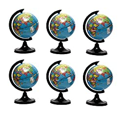 LAXMI COLLECTION (PACK OF 6) GLOBE, RETURN GIFTS FOR KIDS BRITHDAY PARTY