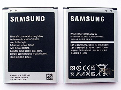 Battery Samsung Galaxy Note 2 Ii N7100 3100Mah Eb595675Lu Replacement Part Mobile Phone Accessory