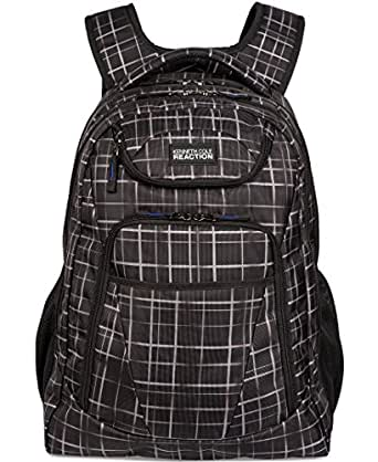 Kenneth Cole Reaction Tribute Backpack, Shadow Griddle, One Size