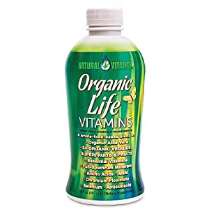 Natural Vitality Organic Life Vitamins Liquid