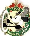 Disney Tokyo Disneyland MICKEY MOUSE SCREEN DEBUT キーホルダー 非売品 1928