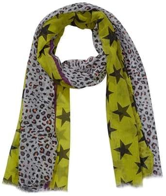 Codello Damen Tuch 41023708, Gestreift, Gr. One size, Gelb (yellow 05 05)