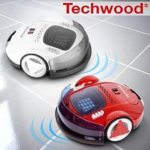 aspirateur robot clever techwood rouge cuisine maison. Black Bedroom Furniture Sets. Home Design Ideas