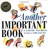 Another Important Book (0060262826) by Margaret Wise Brown