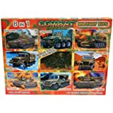 Combat Mission Military 8-In-1 Kit Plus 30 Soldiers