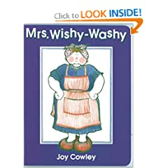 Mrs. Wishy-Washy board book
