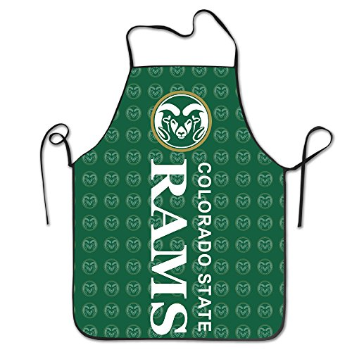Colorado State Rams Team Logo Kitchen BBQ Apron (Kansas State Chef Hat compare prices)