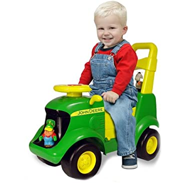 John Deere Toddler Ride On Tractors