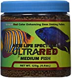 New Life Spectrum UltraRED Medium Red Enhancer 2mm Sinking Pet Food, 125gm