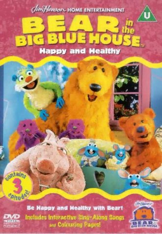 Bear In The Big Blue House - Happy And Healthy [DVD] [1998]