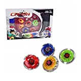 Bey Battling Blades Game Tops Metal Fusion Starter Set Launchers and Arena Included By: Crush
