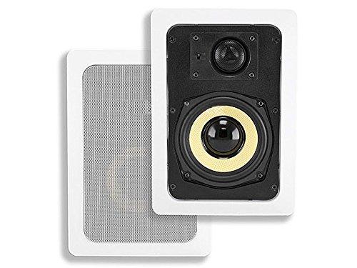 Monoprice 104099 5-1/4-Inch Kevlar 2-Way In-Wall Speaker