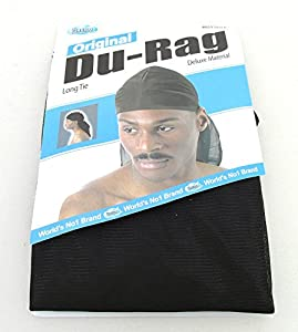 Dream Du-Rag Black (Pack of 12)