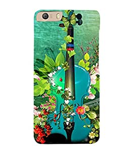EPICCASE classy violin Mobile Back Case Cover For Micromax Canvas Knight 2 E471 (Designer Case)