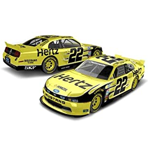 Buy 2013 Joey Logano #22 Hertz Nationwide Ford Mustang 1 64 Diecast Collectables Lnc Kids Hard Top by Action