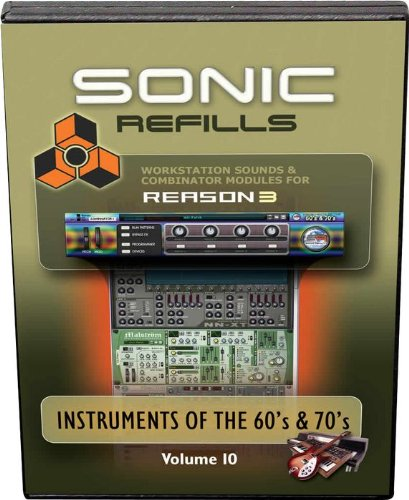 Sonic Reality Reason 3 Refills Vol. 10: Instruments of the '60s and '70s, ¹