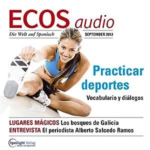 ECOS audio - Practicar deportes. 9/2013 Hörbuch