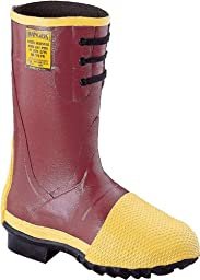 Honeywell Safety 2155-12 Ranger Turtleback Safety Mid Pac for Men\'s, Size-12, Red