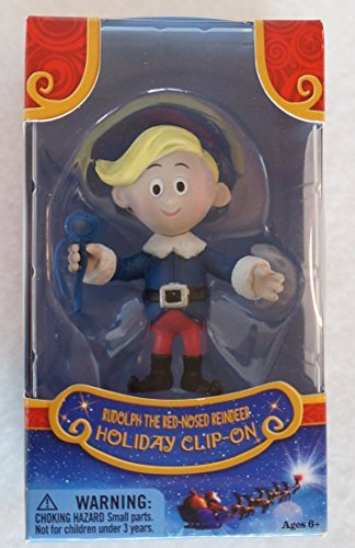 Rudolph the Red-Nosed Reindeer HERMEY Holiday Clip-On 50th Anniversary