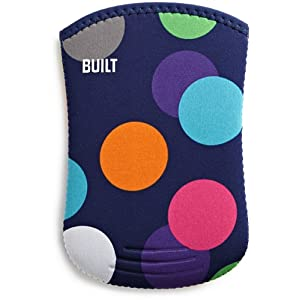 BUILT Neoprene Kindle Slim Sleeve Case, Scatter Dot (fits Kindle Paperwhite, Touch, and Kindle)