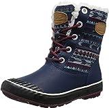 KEEN Women's Elsa Boot WP Winter Boot, Dress Blues, 8 M US