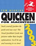 Quicken 2003 for Macintosh: Visual Qu...
