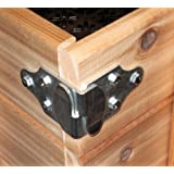 Trailer Wood Sides Latch Rack Stake Body Gates Corner Brackets by Pack'em Racks - 4 set PK-SB