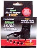 Universal AC/DC MAINS POWER ADAPTOR 300MA 3/4.5/6/7.5/9/12 VOLT