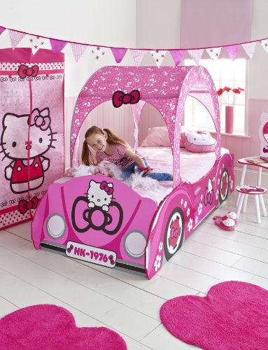 Worlds Apart 864225 Lit d'Enfant Hello Kitty Rose