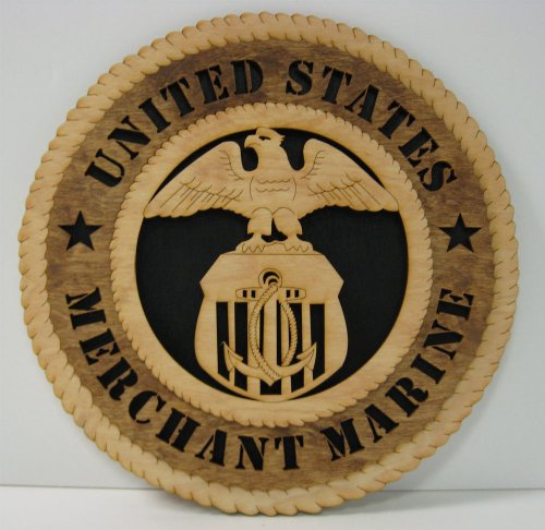 Merchant Marine Military Tribute Plaque