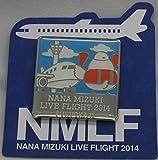 水樹奈々 【LIVE FLIGHT 2014】 ピンズ 福岡会場2日目限定