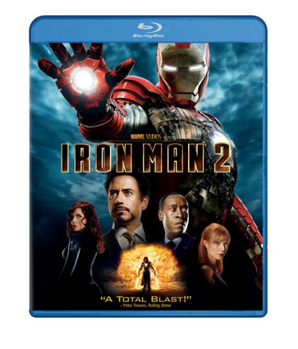 Blu-ray : Iron Man 2 (, Dubbed, Dolby, AC-3, Digital Theater System)