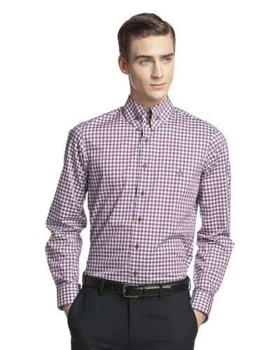 Vivienne Westwood Men's Gingham Shirt