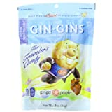 The Ginger People Gin Gins BOOST Ultra Strength Ginger Candy, 3-Ounce Bags (Pack of 24) ~ The Ginger People